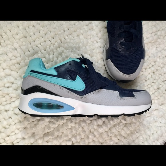 huge discount ca374 a724d Nike Air Max ST International teal blue navy blue.  M 5afcbe96b7f72b643e92e87b